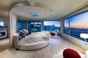 Top 10 thiết kế phòng ngủ đẹp sang trọng với giường tròn hot nhất 2021