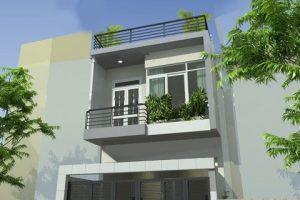 Tư vấn xây nhà 2 tầng giá 500 triệu – Thiết kế nhà phố diện tích nhỏ